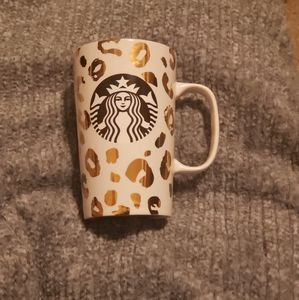 ♦️♦️Cheetah Print♦️♦️ 💚Starbucks Coffee Mug💚